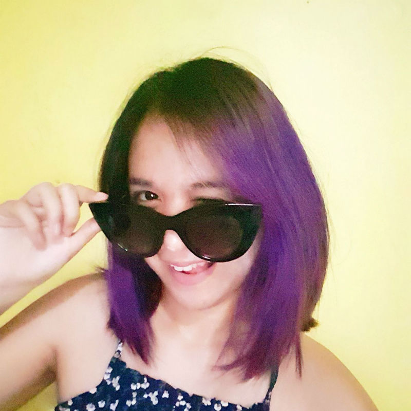 pravana chromesilk vivids violet hair dye review - alyssa martinez - via stylevanity dot com