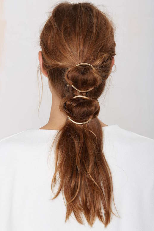 6 Ways To Style Your Hair With Circle Hair Clip Style Vanity