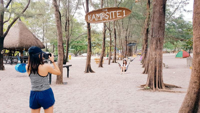 Crystal Beach Resort Zambales Camping