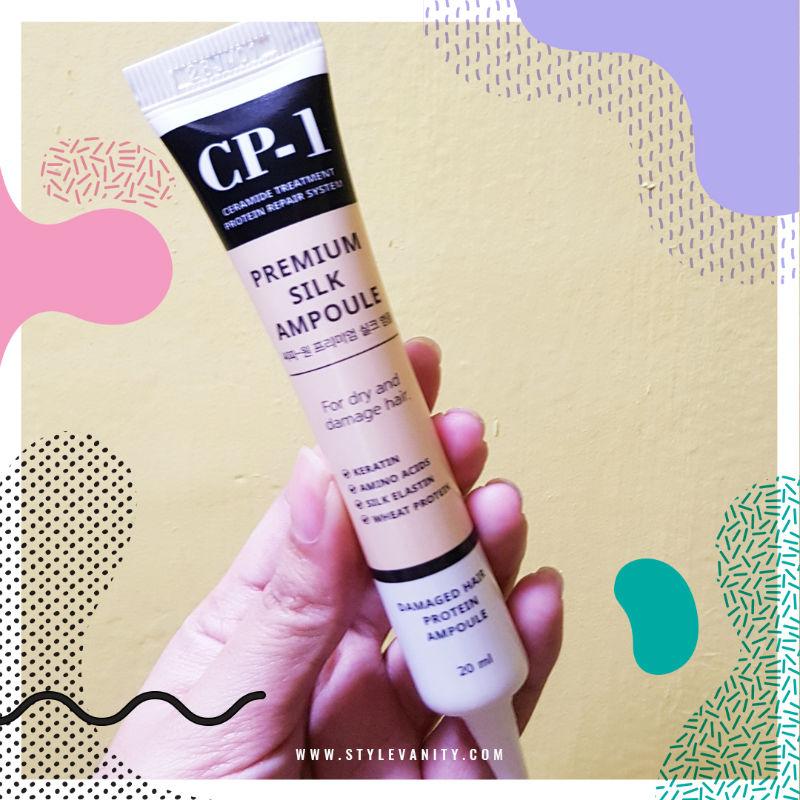 piolang cp-1 premuim silk ampoule review via stylevanity dot com