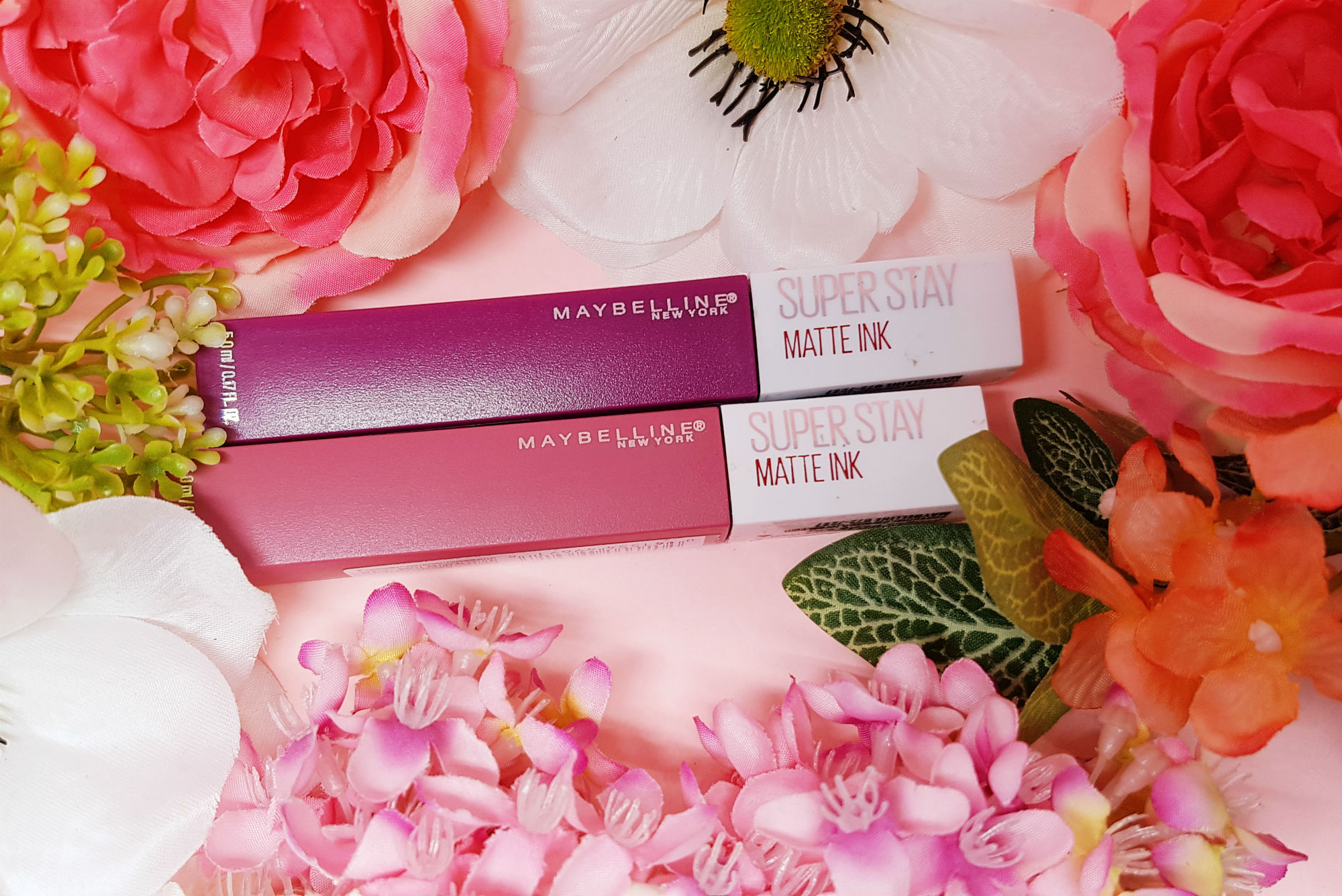 Maybelline Superstay Matte Ink Review Swatch Style Vanity