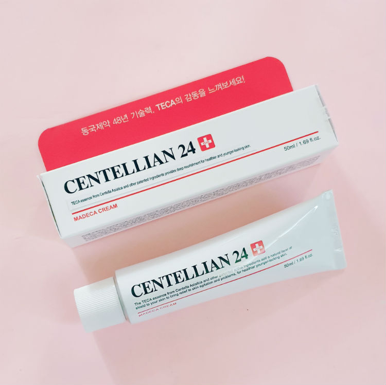 centellian 24 madeca cream review - packaging