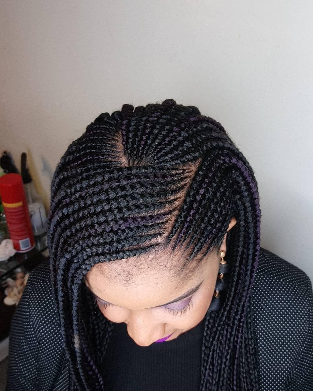 African American Braided Hairstyles Style Vanity