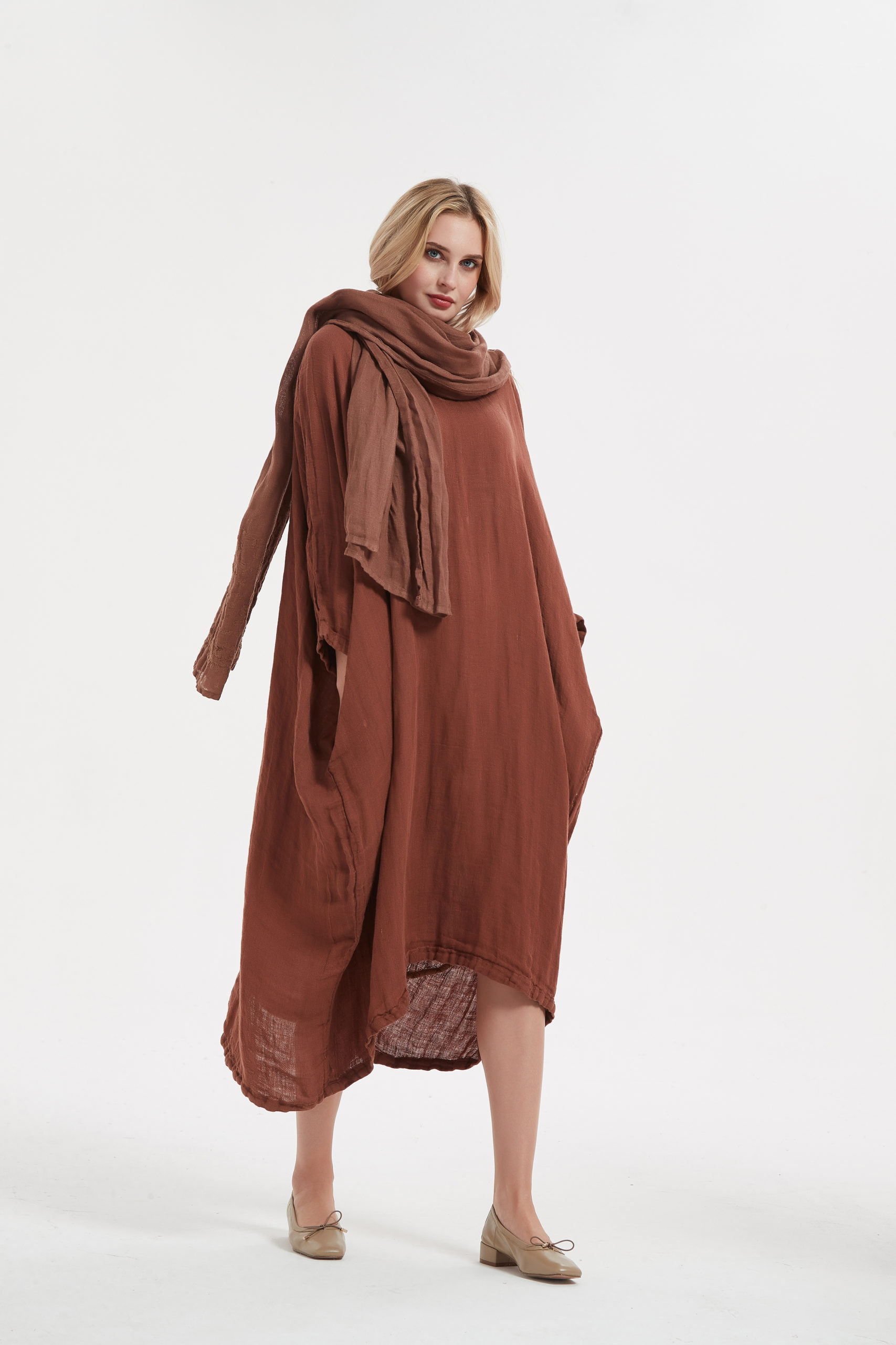 7 Ideas To Style Linen Dress Elegantly